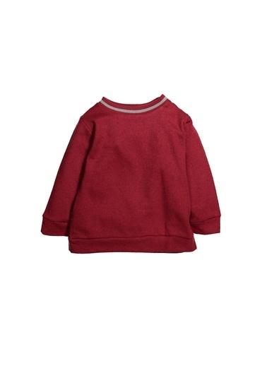 Zeyland Ribanalı Simli Sweatshirt (12ay-4yaş) Ribanalı Simli Sweatshirt (12ay-4yaş) Bordo